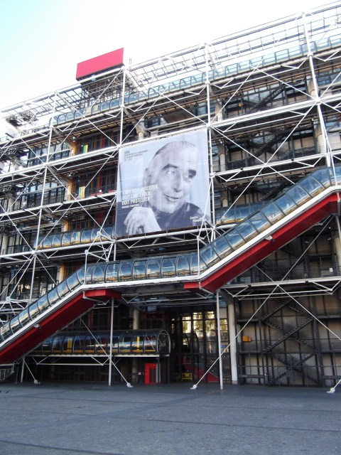 Centre Pompidou Exterior