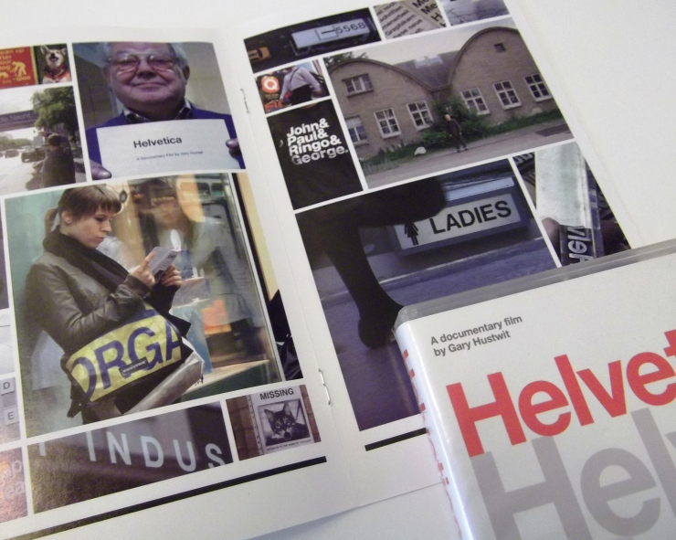Helvetica DVD sleeve images