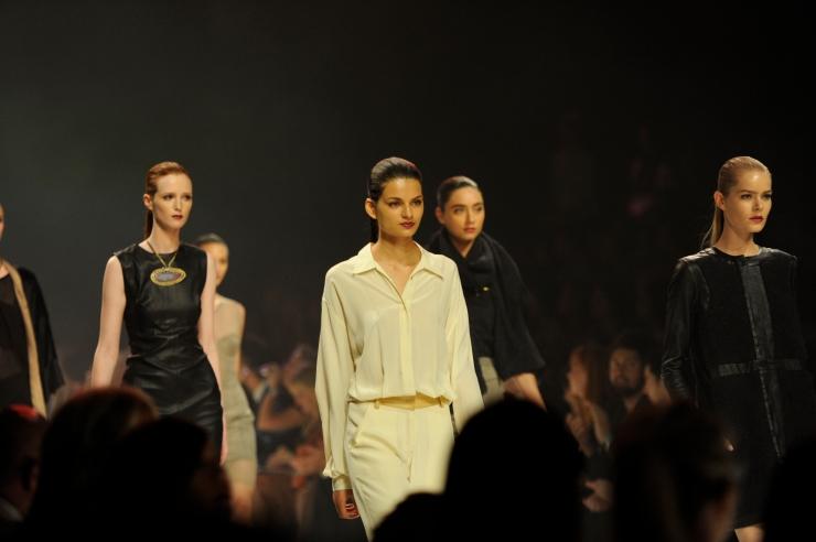L'oreal Melbourne Fashion Festival runway