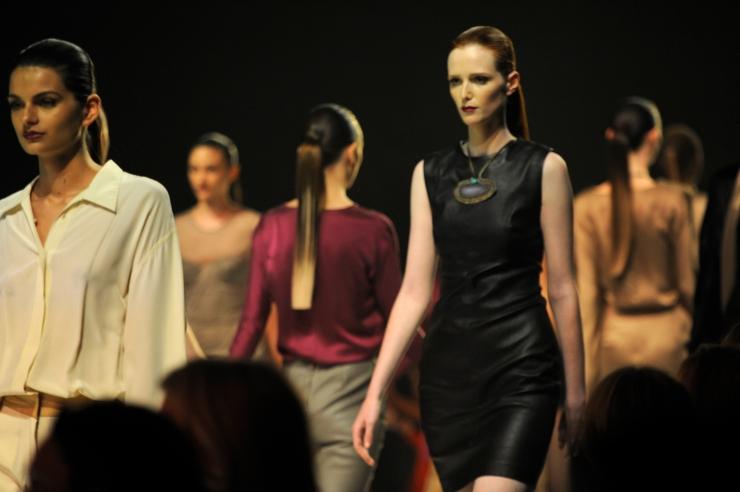 L'oreal Melbourne Fashion Festival runway finale