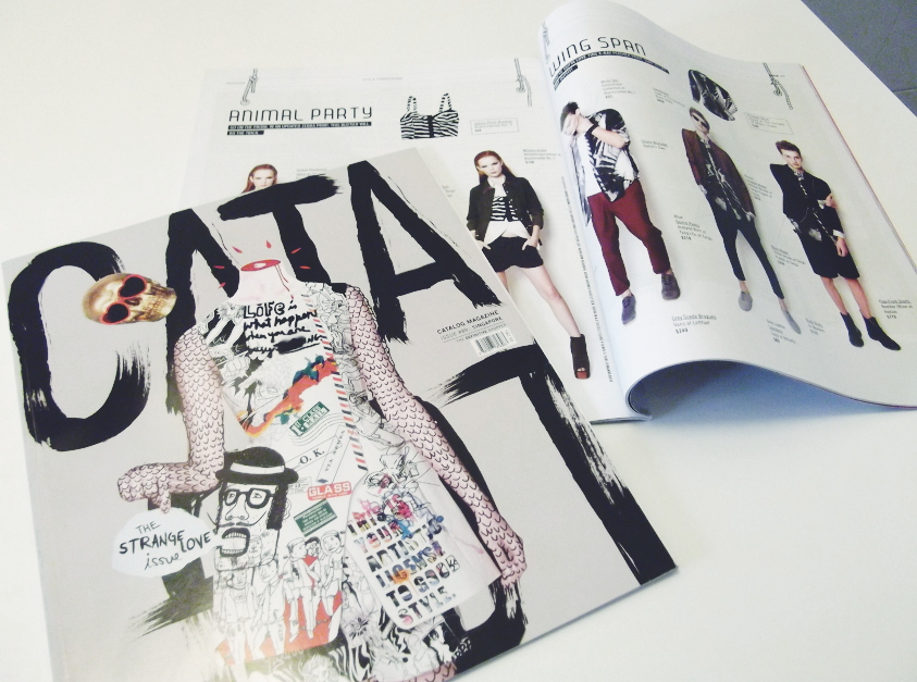 Catalog street magazine Singapore fashion lifestyle