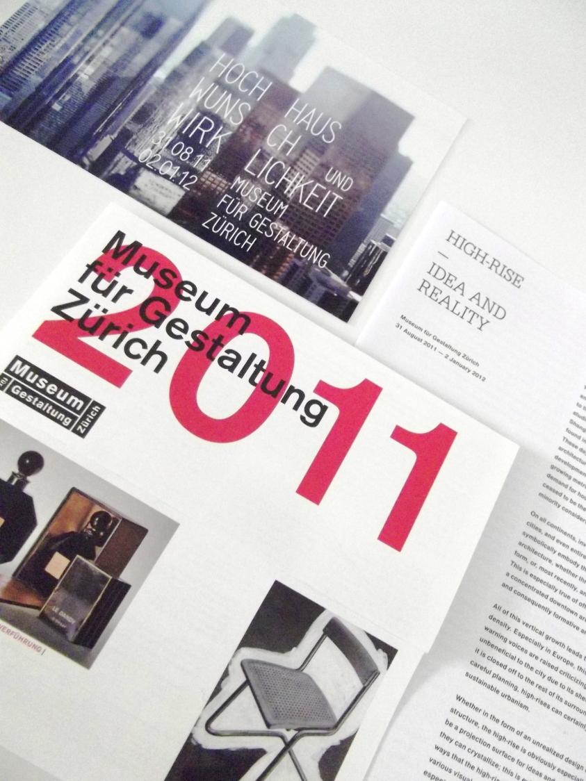 Swiss Design exhibition Museum für Gestaltung Zürich