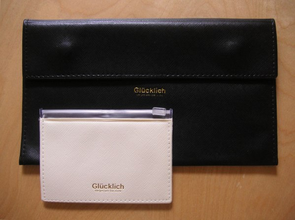 Travel wallet and business card holder giveaway