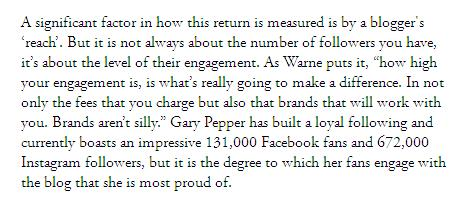 Quote from Nicole Warne from Broadsheet