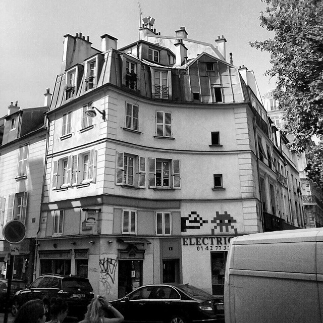 Paris architecture Le Marais