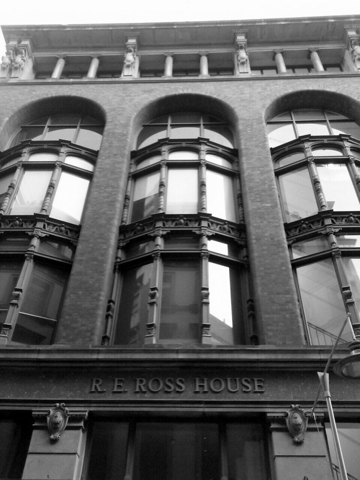 RE Ross House Melbourne Flinders Lane
