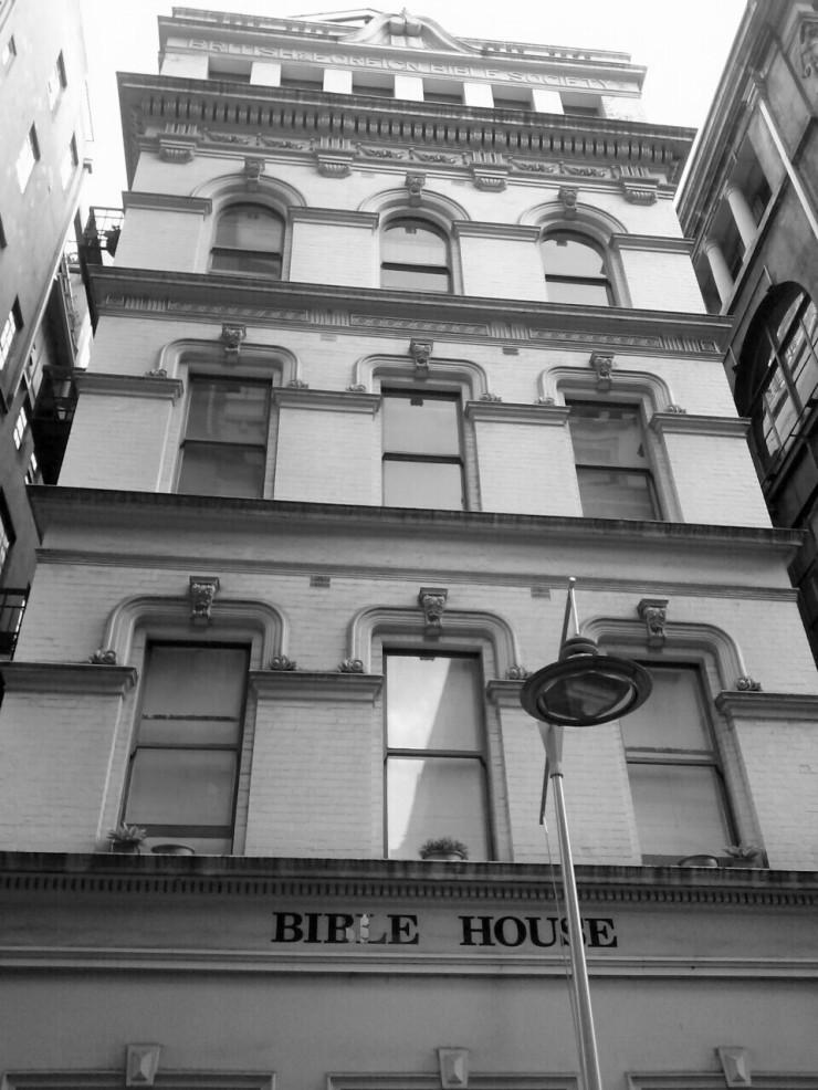 Bible House Melbourne Flinders Lane