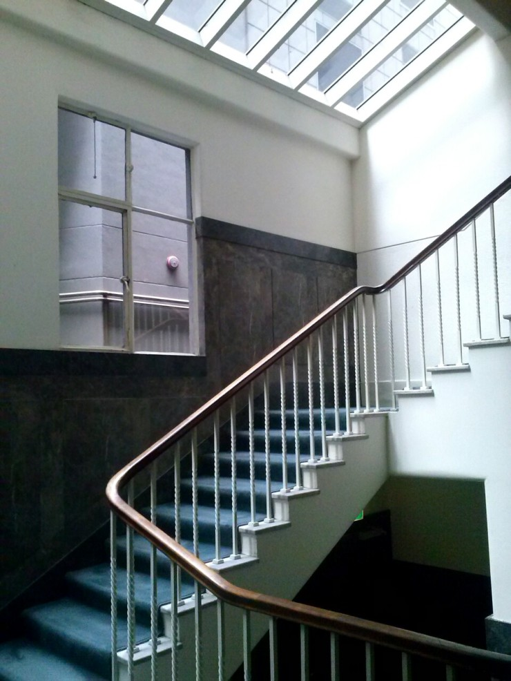 Henty House Melbourne stairwell
