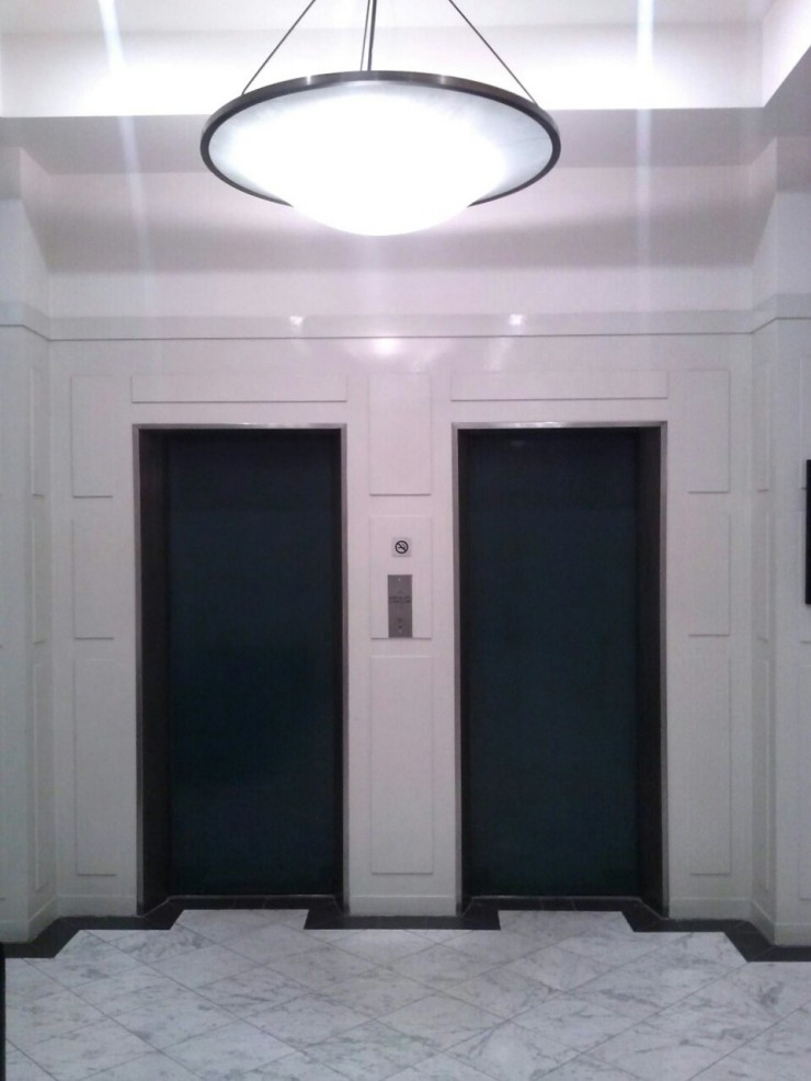 Henty House Melbourne lift lobby