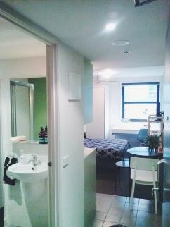 Entry view Unit 911 268 Flinders Street Home@Flinders Melbourne Studio by Ideas Dispenser