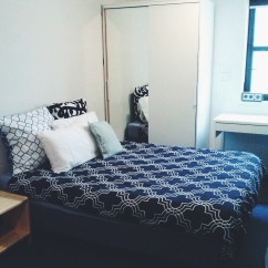 Bed wardrobe view Unit 911 268 Flinders Street Home@Flinders Melbourne Studio by Ideas Dispenser