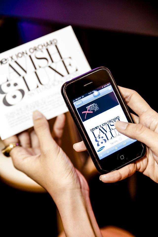 Fashion Show QR Code Digital Lookbook Singapore