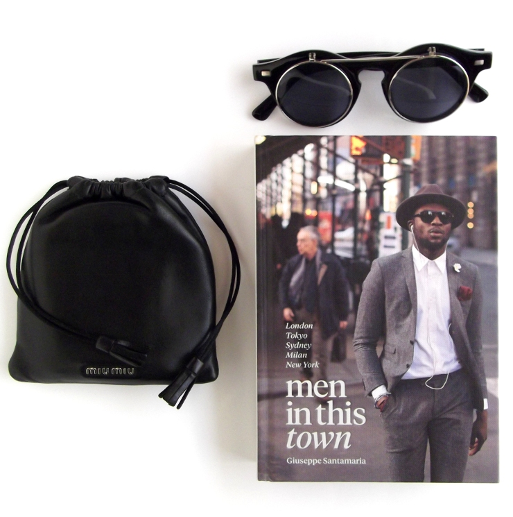 Event Men in this town book Giuseppe Santamaria blogger men streetstyle