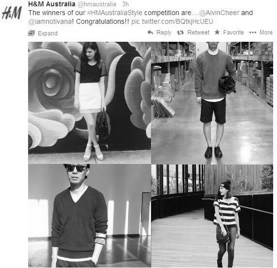 H&M Australia Street Style Fashion Alvin Chia