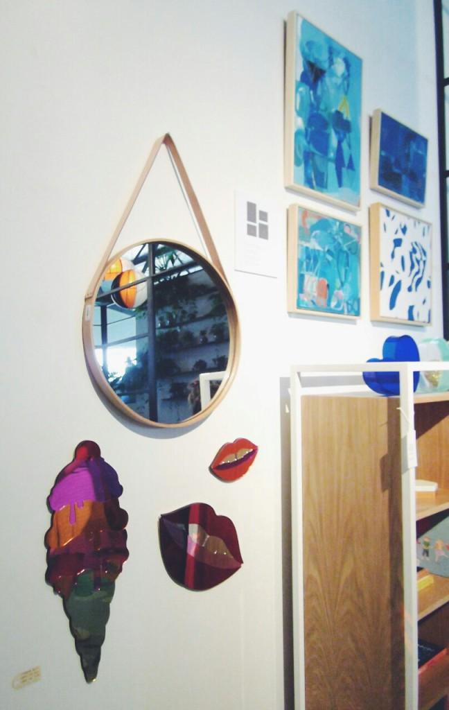 The Design Files Open House 2014 Collingwood wall art mirror children bedroom Melbourne