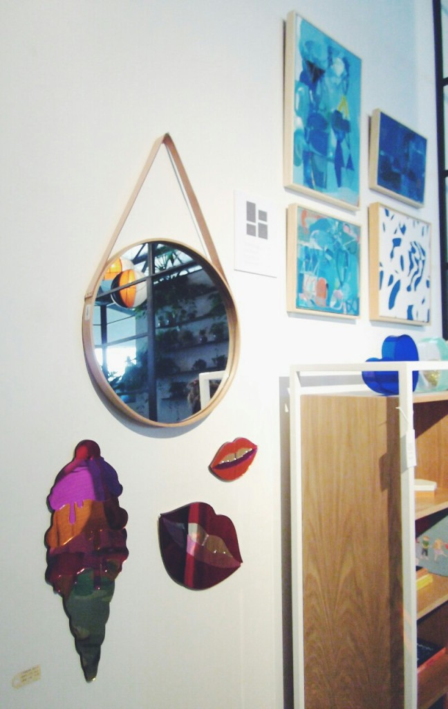 The Design Files Open House 2014 Collingwood wall art mirror children bedroom Melbourne