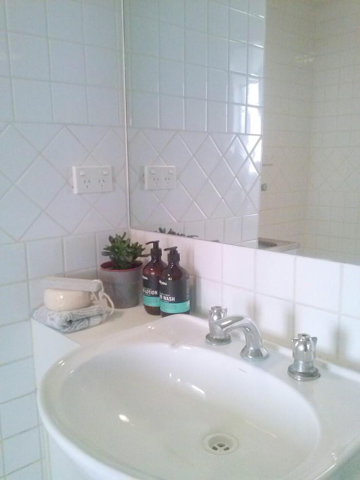 Henty House Unit 107 501 Little Collins Street Melbourne bathroom sink