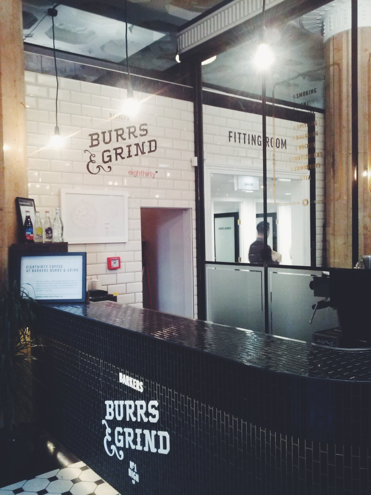 Auckland Barkers shop reception