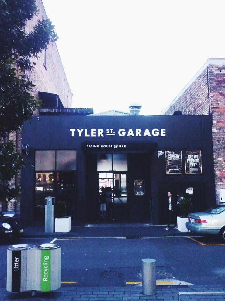 Auckland Britomart Tyler Street Garage restaurant