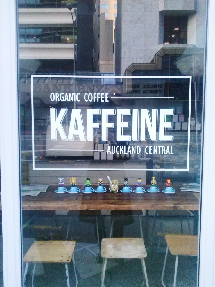 Auckland Kaffeine Cafe