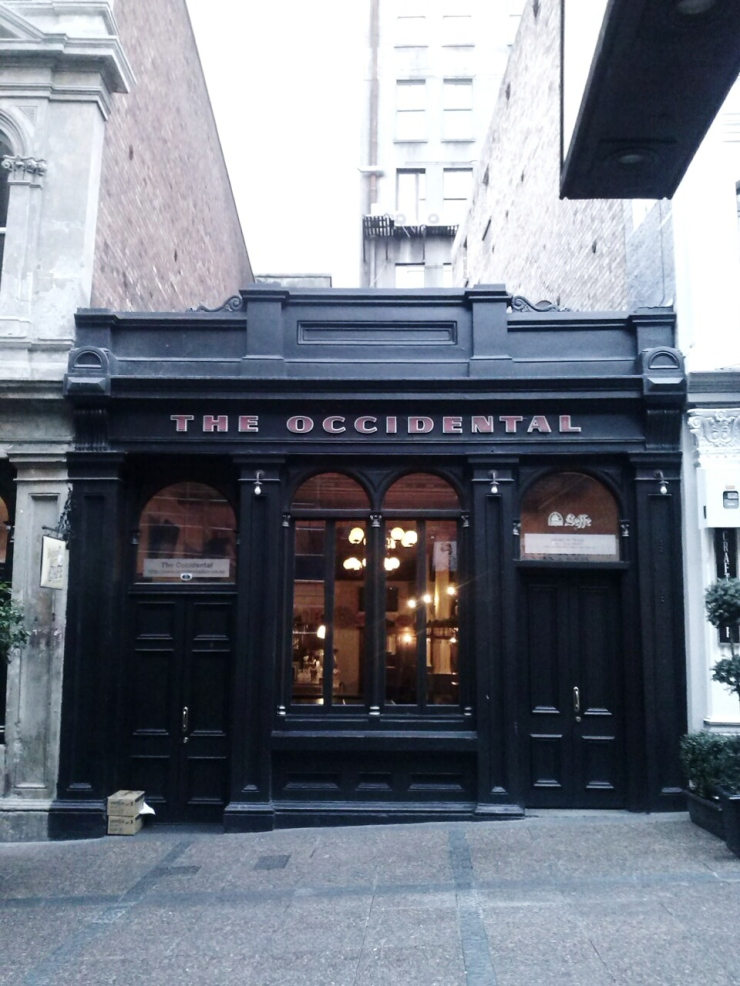 Auckland Vulcan Lane The Occidental Pub