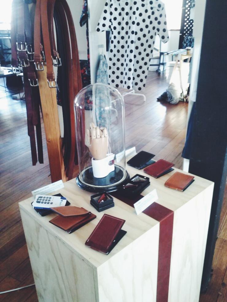 Menske Winter 2015 Farrah Design leather
