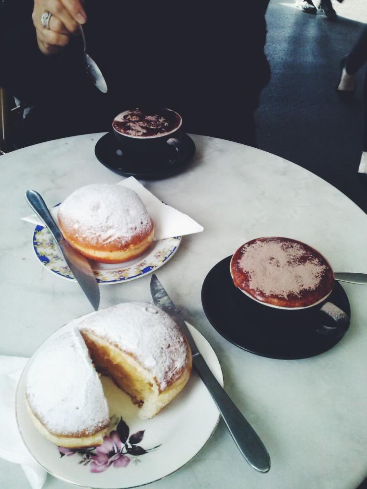 Milk Jamm 280 Smith Street Collingwood Custard donuts coffee bakery cafe