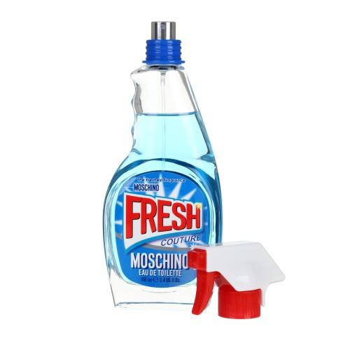 Moschino Fresh Fragrance in Windex spray bottle