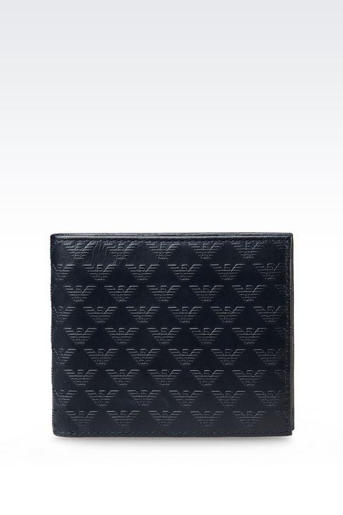 Emporio Armani 2015 logo monogram wallet