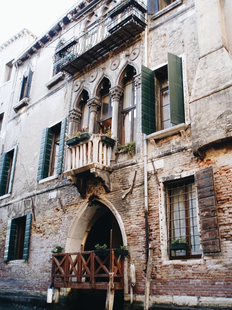 Venice building facade