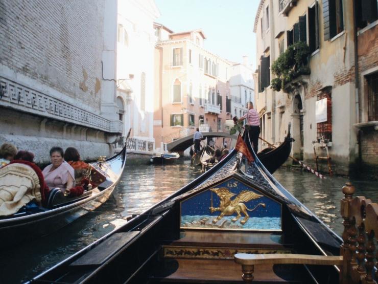 Venice landscape Gondola 4