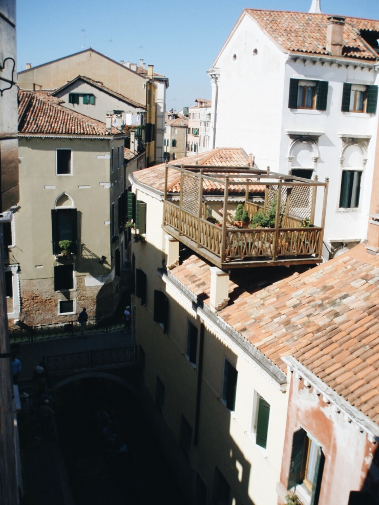 Venice rooftop view