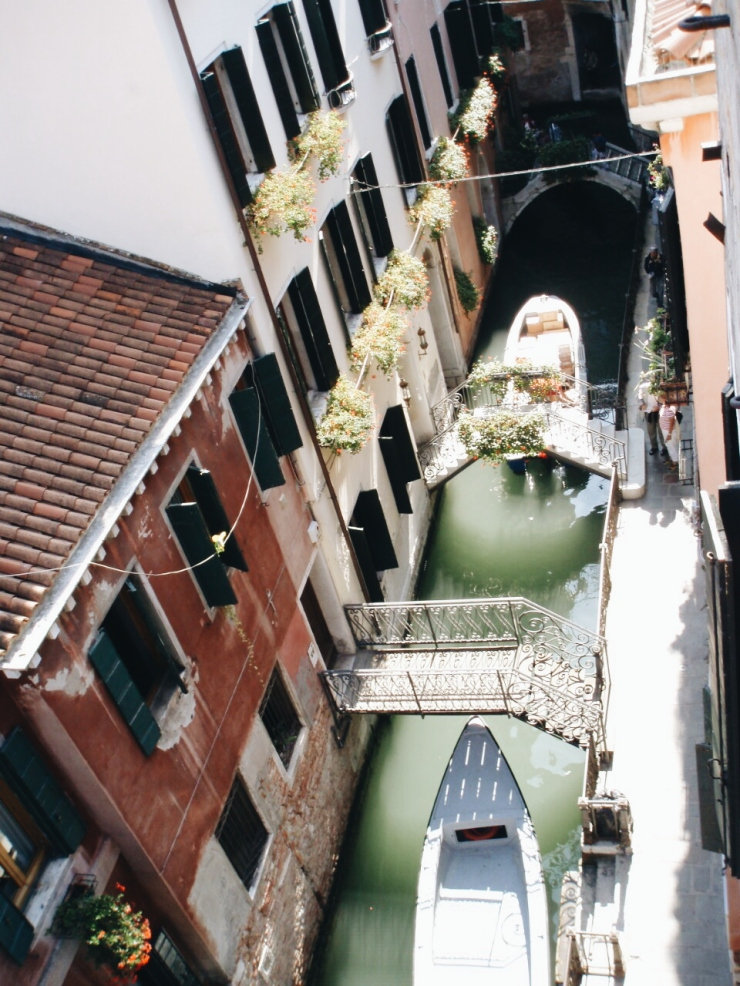 Venice view from B&B