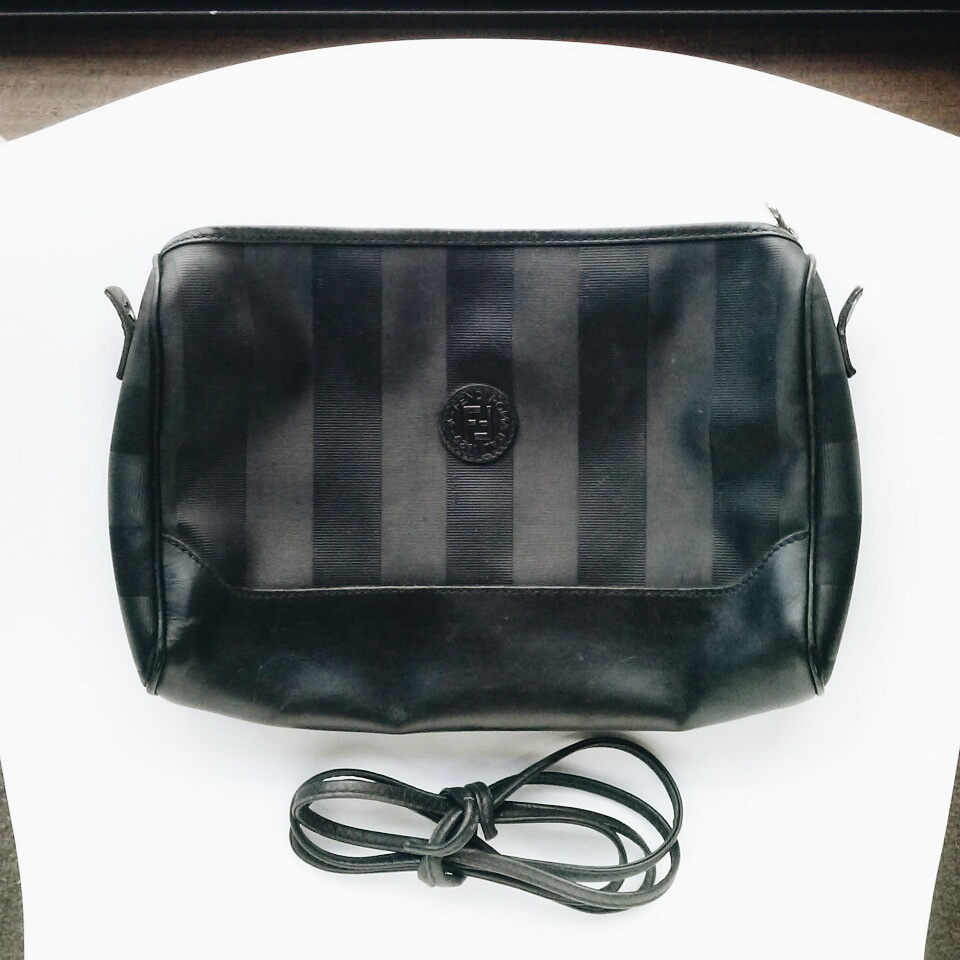 22c7b00e6e1c ... new zealand vintage prada handbag converted into manbag clutch d0d99  357be