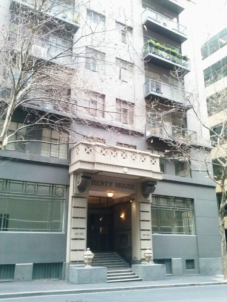 Henty House Unit 107 501 Little Collins Street Melbourne