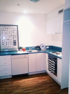 Henty House Unit 107 501 Little Collins Street Melbourne Kitchen view