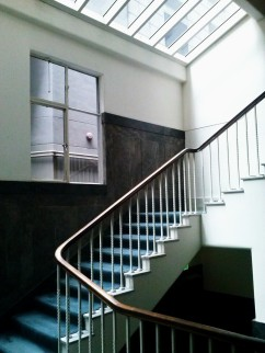 Henty House Unit 107 501 Little Collins Street Melbourne Heritage service stairs view