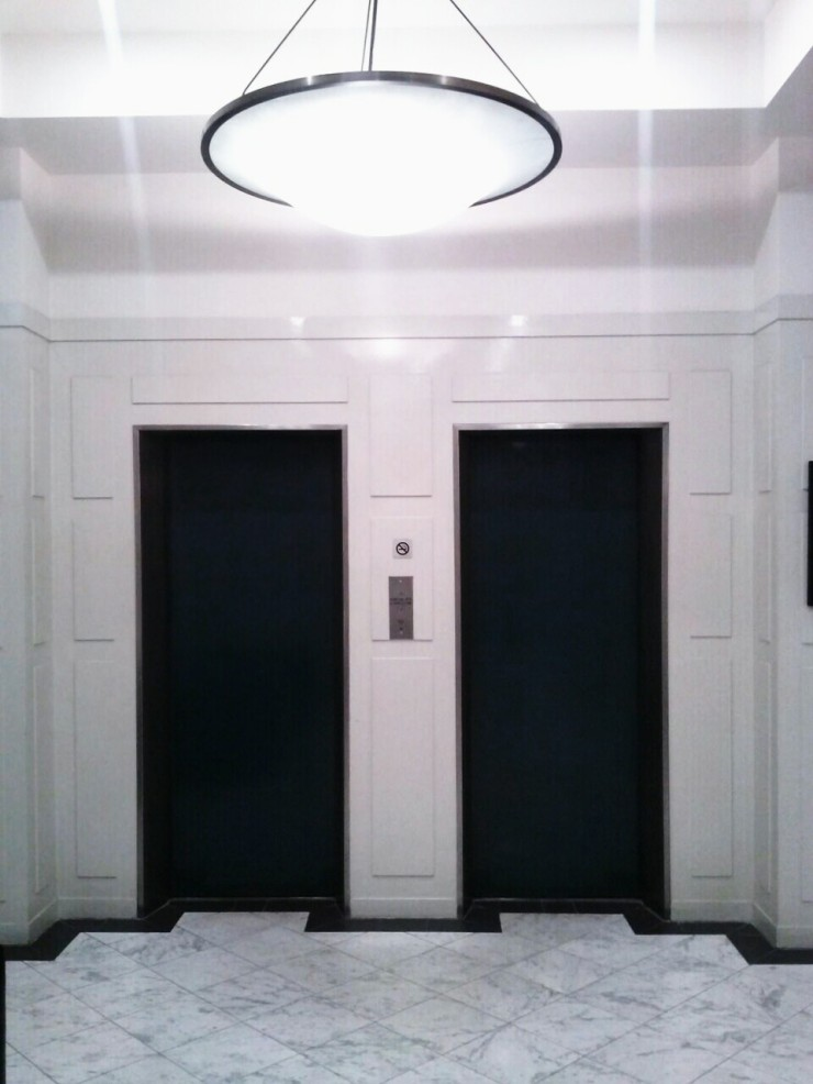 Lift lobby at foyer view