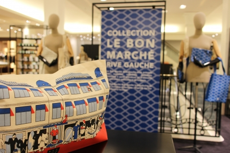 Le Bon Marche Paris in house designer merchandise Corner