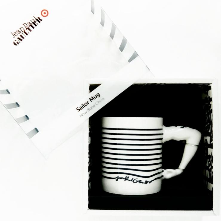 Jean Paul Gaultier X Target Australia Striped Mug