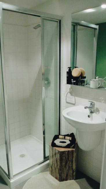 Unit 911 268 Flinders Street Home@Flinders Melbourne Studio by Ideas Dispenser 2016 bathroom view