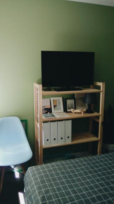 Unit 911 268 Flinders Street Home@Flinders Melbourne Studio by Ideas Dispenser 2016 bookshelf