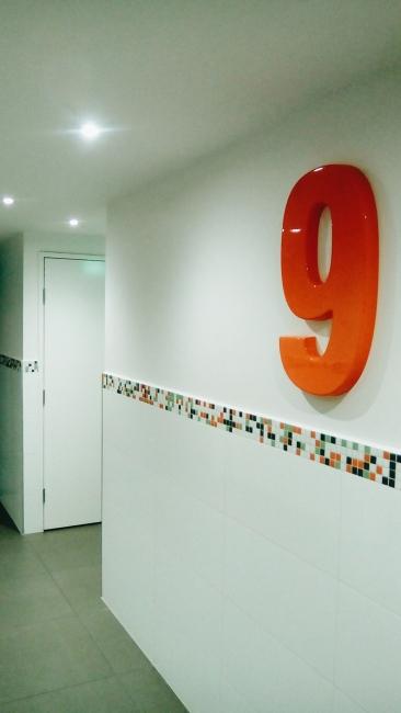 Unit 911 268 Flinders Street Home@Flinders Melbourne Studio by Ideas Dispenser 2016 lift landing view