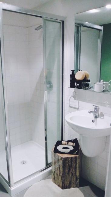 Unit 911 268 Flinders Street Home@Flinders Melbourne Studio by Ideas Dispenser 2018 bathroom view