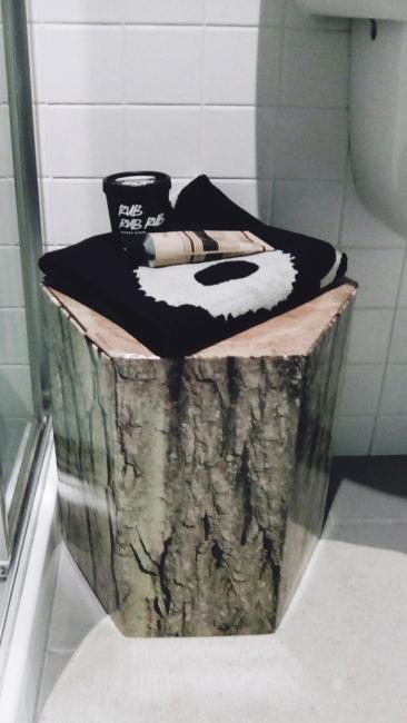 Unit 911 268 Flinders Street Home@Flinders Melbourne Studio by Ideas Dispenser 2018 bathroom cardboard stool