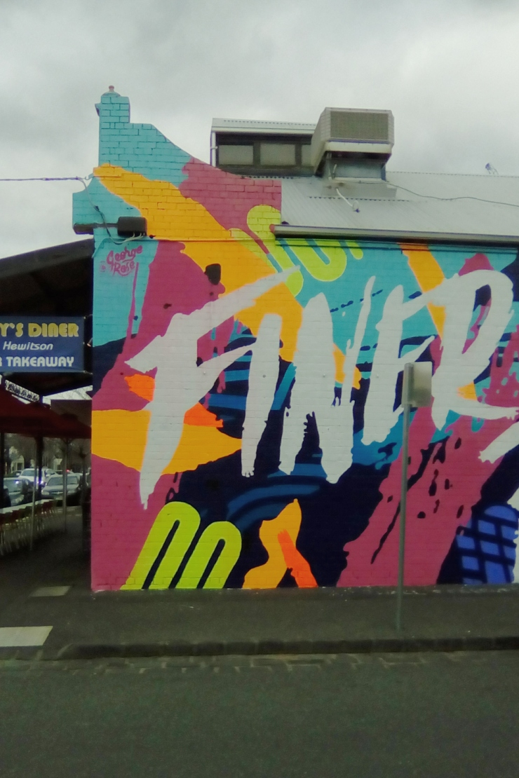 South Melbourne mural wall
