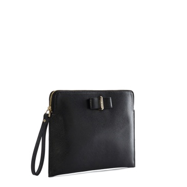 karen-millen-bow-zip-clutch-side