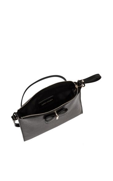 karen-millen-bow-zip-satchel-inside