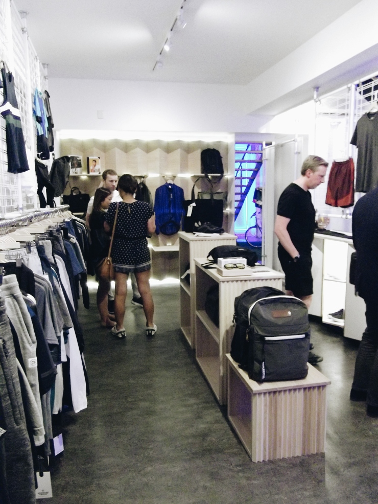 The Practical Man Flinders Lane basement menswear sportswear