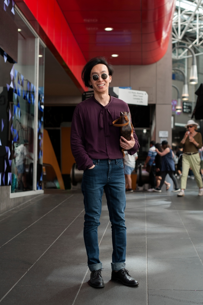 Alvin Chia Melbourne Central Street Style OOTD